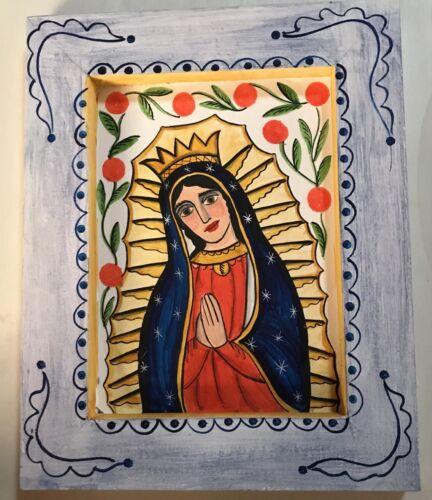 Our Lady of Guadalupe, #2,  Retablo, Santo, Santa Fe, Nicho, Mexico, children