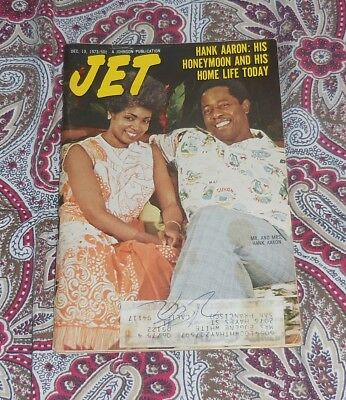 JET MAGAZINE - DEC 13TH, 1973 - HANK AARON COVER