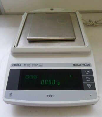 Mettler Toledo Pg603-s Digital Laboratory Balance