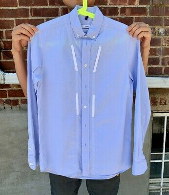 OAMC Casual Shirts Blue SIZE SMALL
