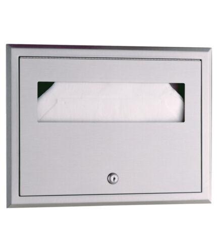 Bobrick B301 Recessed Seat-Cover Dispenser Industrial Washroom Equipment