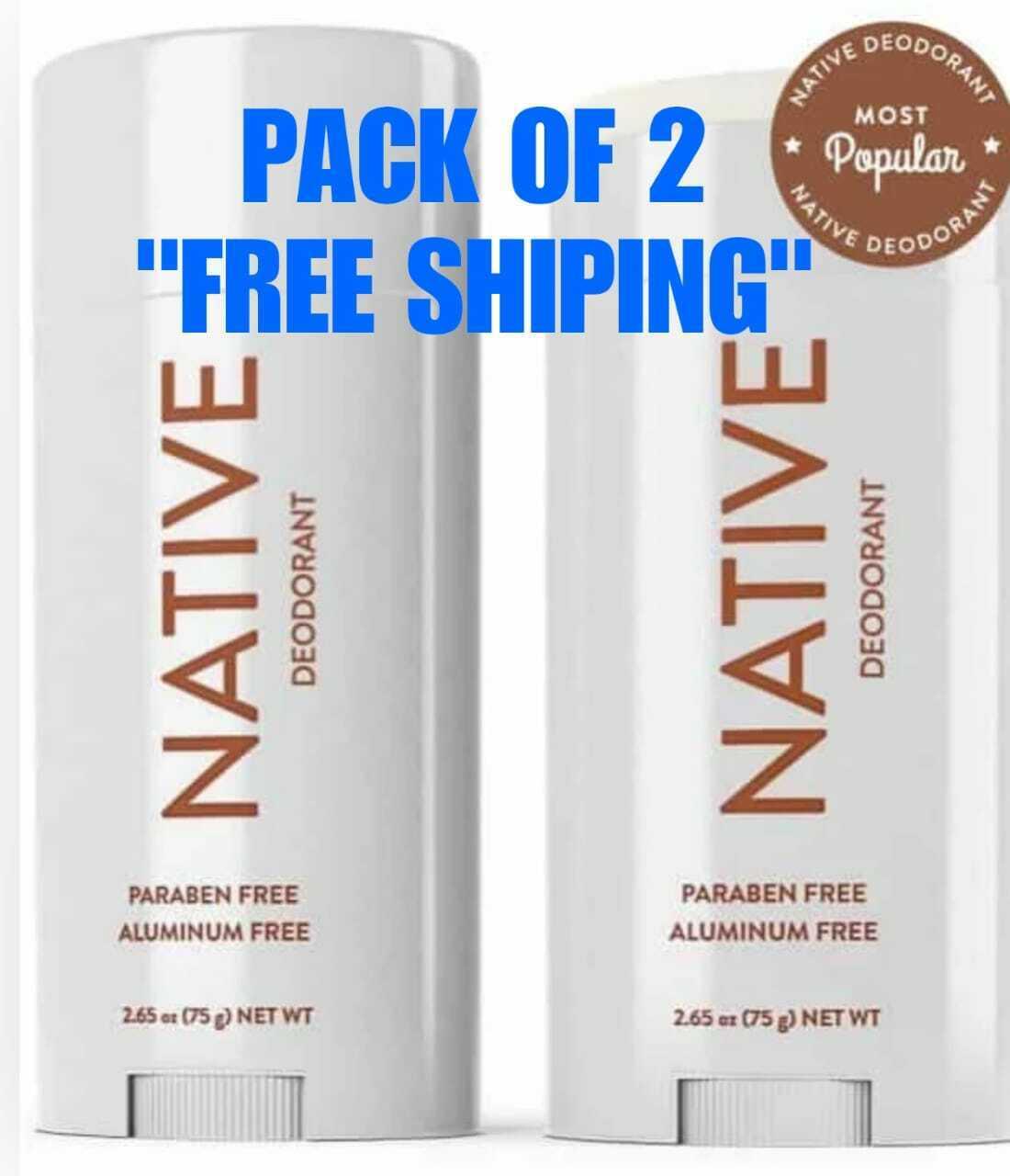 NATIVE DEODORANT COCONUT & VANILLA SCENT ALUMINUM FREE LONG