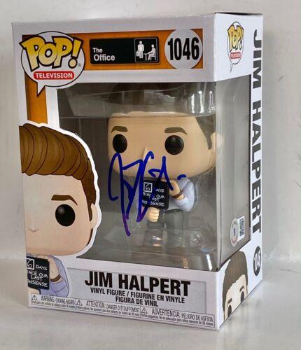John Krasinski Signed Funko Pop Figure Jim Halpert The Office 1046 Beckett COA