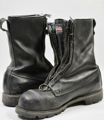 Pre-owned Thorogood Structurewildland Firefighter Boots  Hmw 8 Hardly Used