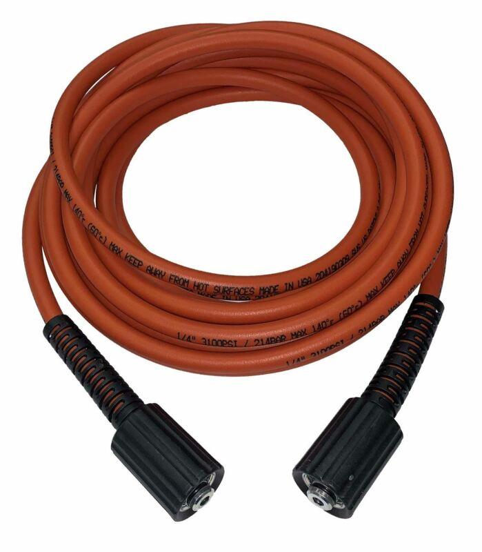 Generac 25ft x 1/4in Orange Flex Hose M22 3100 PSI