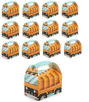 Tonka Truck Birthday (Yellow Construction Tonka Truck Treat Boxes Candy  Birthday party)