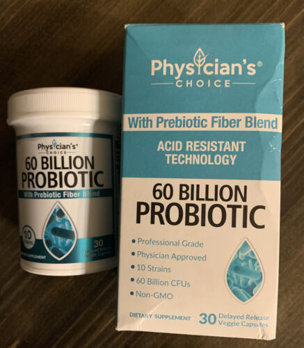 Physician's Choice 60 Billion Probiotic w/ Prebiotic Fiber B