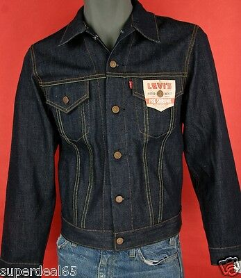 Levi's LVC 1967 Type 111 Deadstock Jacket Made in USA Levis Denim 2007 LVC Levi