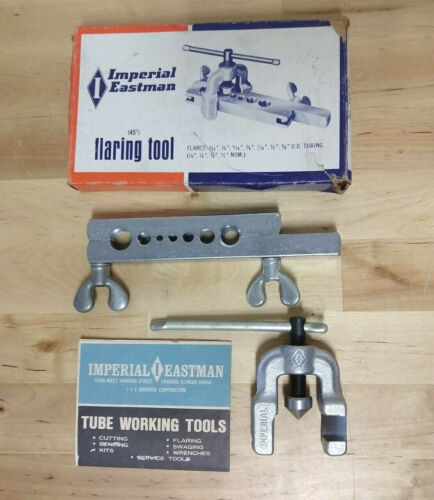 Vintage Imperial Eastman 45 Degree Flaring Tool With Box