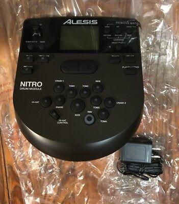 Alesis Nitro Drum Module Brain & Power Supply for Electronic Drum (Brain Module)