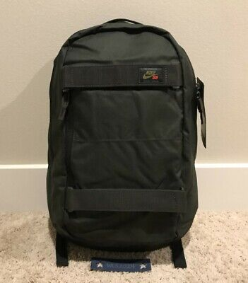 Nike SB Courthouse Backpack - Sequoia Dark Green/Black - One Size #BA5305 357