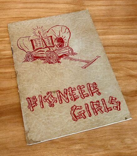 1947 PIONEER GIRLS Christian Girls Scouts Club TRAIL BOOK / HANDBOOK