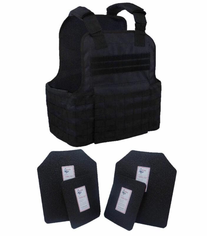 Tactical Scorpion Level III+ AR500 Body Armor Bobcat 11x14 Concealed Vest