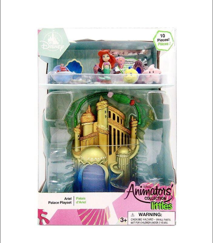Disney Animators Collection Littles Ariel Palace Play Set Little Mermaid Toy New