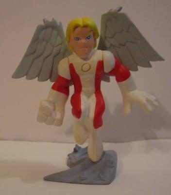MARVEL SUPER HERO SQUAD ANGEL RED COSTUME X-MEN FIGURE](Super Hero Costumes For Men)