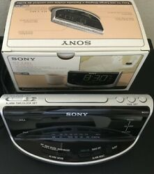 NEW Sony ICF-C492 Dream Machine Large Display Clock AM FM Radio