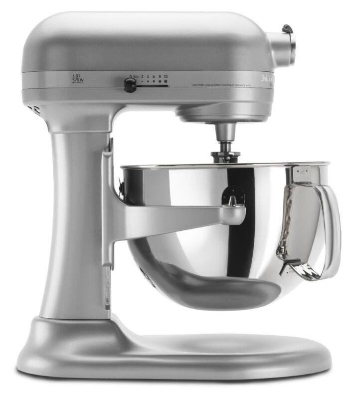 KitchenAid RKP26M1X 6 QT Pro 600 Large Capacity Stand Mixer Different Colors