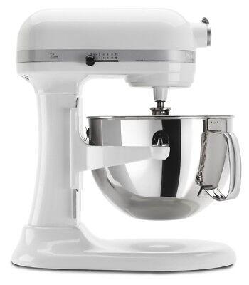 Professional 600 Series 6 Qt. Stand Mixer, White
