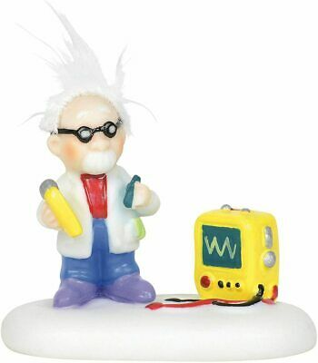 Department 56 North Pole Village Accessories Static Electricity Expert Figurine,