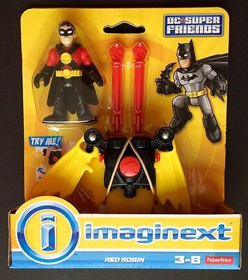Fisher Price Imaginext DC Super Friends Red Robin NEW