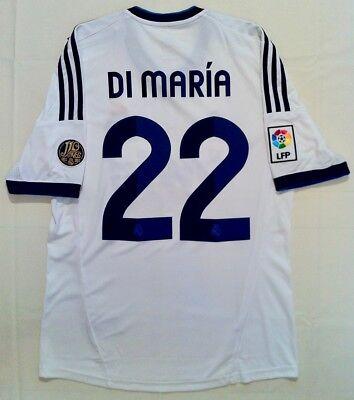 Camiseta Real Madrid Adidas 2012/2013 Ángel Di María (talla M)