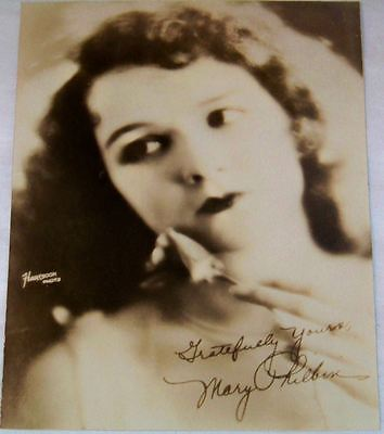 Antique Studio Photograph of Mary Philbin Early Movie Actress