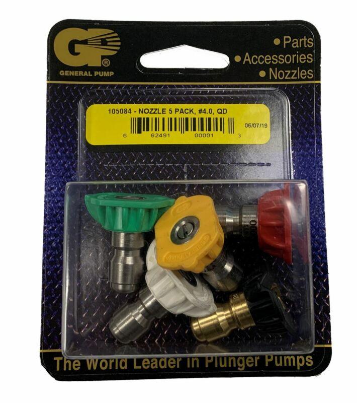 GP 105084 #4.0 Quick Connect (Q) Spray Nozzle 5-Pack