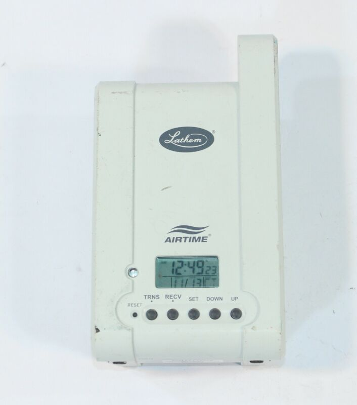 Used Replacement Lathem Airtime ATX Transceiver Wireless Time Clock