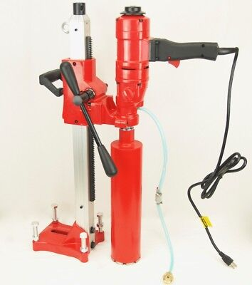 New 4 Bluerock Core Drill 2 Speed W Stand Concrete Coring Model 4 Z-1ws