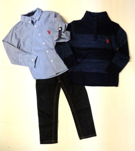 U.S. Polo Assn. Navy, Grey, Blue Boys