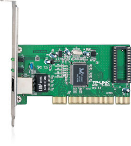 TP-LINK - Gigabit Ethernet PCI Network Adapter Card 10/100/1000 Mbps - TG-3269