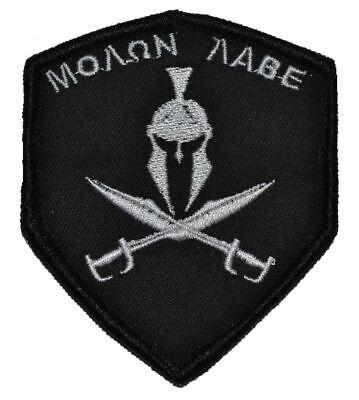 Spartan Head Molon Labe - 2.5x3 Shield Patch