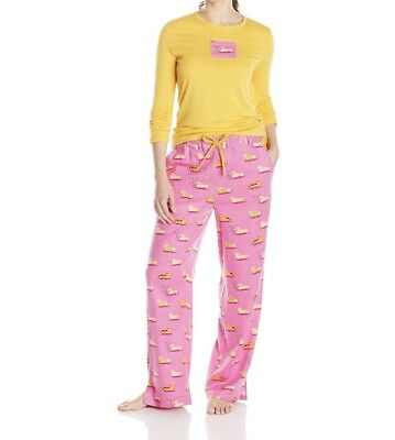 MUNKI MUNKI ☀ DACHSHUND Pajamas ☀ WIENER DOGS Flannel Pants + Knit Top LARGE for sale  Land O' Lakes