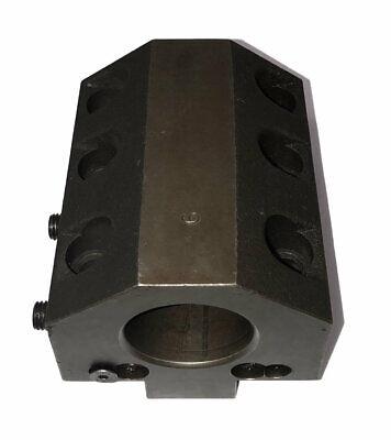 Daewoo Doosan 2 Cnc Id Turret Tool Block W 40mm Locator Key 40mm Center Ht