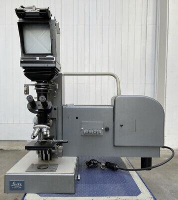 Leitz Wetzlar Panphot Large Camera Microscope