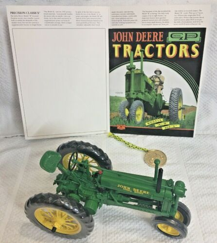 JOHN DEERE UNSTYLED MODEL B PRECISION TRACTOR1/16 Collector