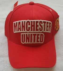 8cee1f38aec OFFICIAL MANCHESTER UNITED FC BASEBALL CAP SIZE ADULTS ONE SIZE   New With  Tags