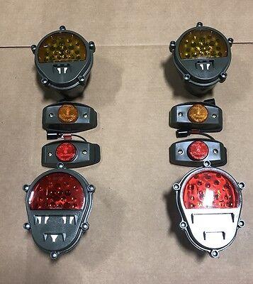 LED LIGHT CONVERSION KIT W/BUCKET h1 Hummer humvee Am General m998 military
