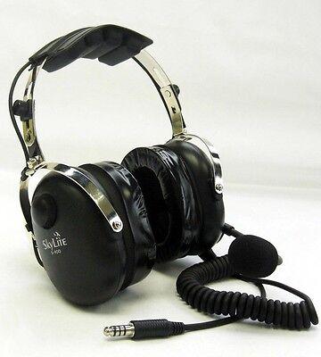 SkyLite SL-900H Helicopter Aviation Headset Gel Ear Seal Free Flight Bag U-174/U