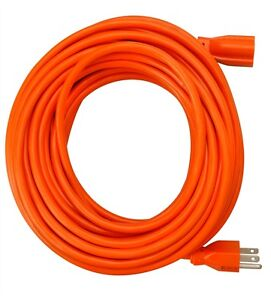 50-Foot 16 Gauge Grounded Extension Cord