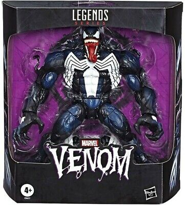 "Here In Hand Marvel Legends 8"" Venom Eddie Brock Action Figure Spider-Man"