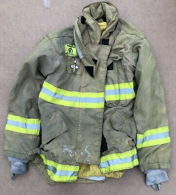 Morning Pride Turnout Bunker Coat Fire Fighting Firefighter Gear 38 X 34.5