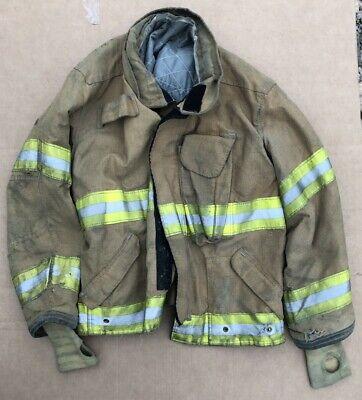 Janesville Turnout Bunker Coat Fire Fighting Firefighter Lion Gear 50 X 29