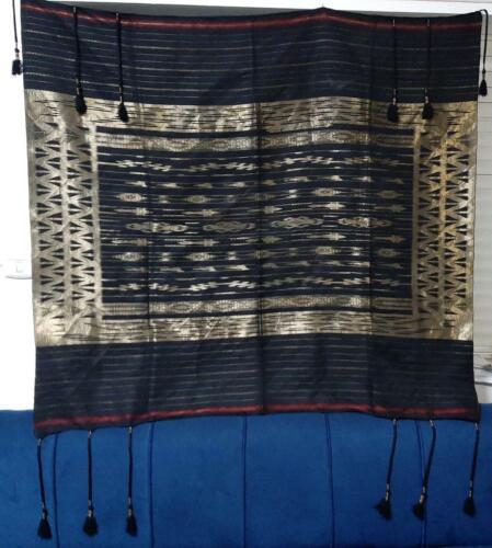 Antique silk handkerchief jordanian arabic traditional women headscarf handmade