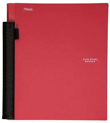 Pack Of 4 Red Five Star Advance Spiral Notebook 1-subject100 College-ruled