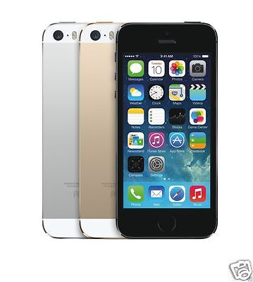 Apple iPhone 5s AT&T Wireless Smartphone Gold Silver Space Gray 16GB