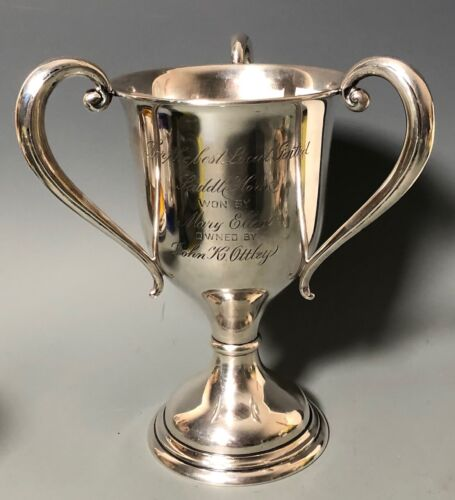 GA Atlanta Horse Show Trophy - Loving Cup - American Sterling Silver - Ottley