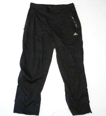 Adidas Golf ClimaProof Storm Wind & Waterproof Black Pants Men's XXL 2XL NWT