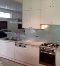 Galley Kitchen - cabinets, cooktop, oven, sink + Newport Pittwater Area Preview