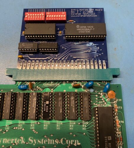 SYM-1/AIM-65 Memory Board